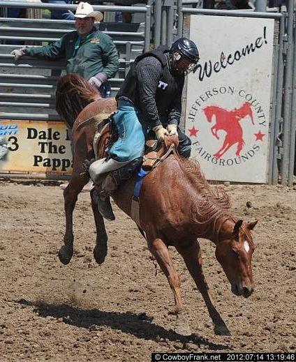 Elodie Huttner from GSGRA in 2012 Denver Rodeo