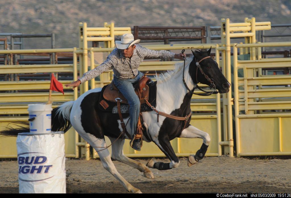 Pepe Lesado from GSGRA in Hot Rodeo 2014