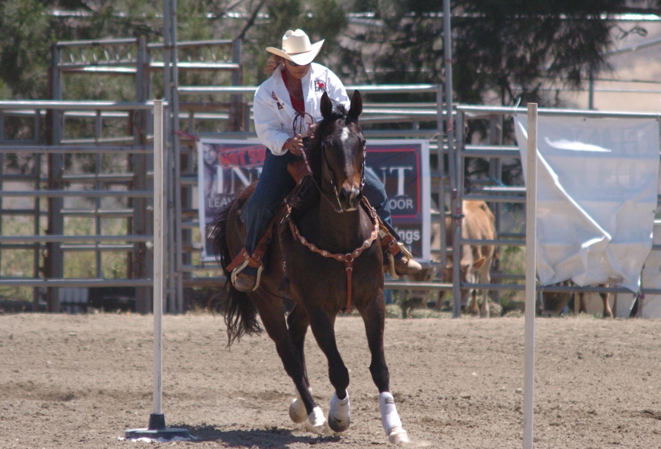 Rosie Sierra from GSGRA-GPSC in 2014 Hot Rodeo